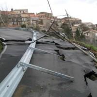 San-Benedetto-Ullano-damage-to-Provincial-Road-24112014-