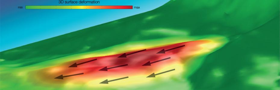 3D Surface Deformation Modelling