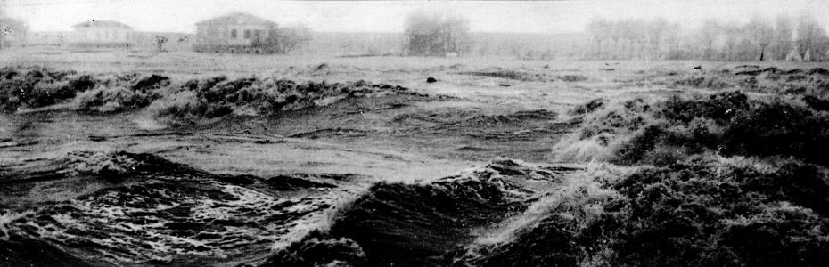 Flooding of the Polesine area, Veneto, in 1951