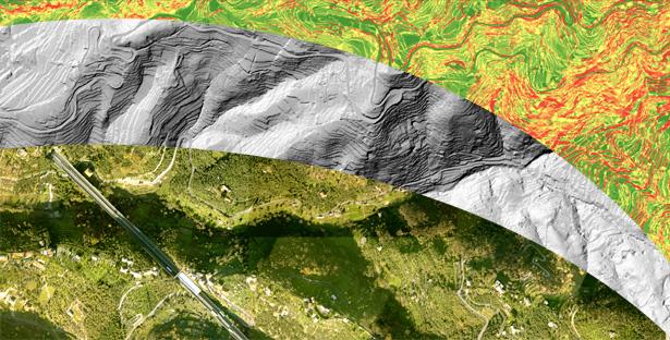 Remote sensing for landscape monitoring