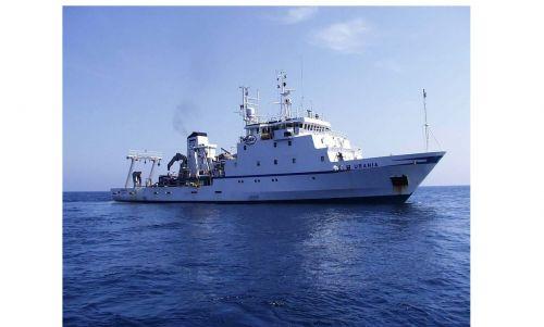 Nave oceanografica con cui è stato effettuato il carotaggio